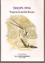 Tropical Scientific Books  TRIOPS 1994