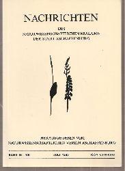 Naturwissenschaftlicher Verein Aschaffenburg  Nachrichten Band Nr. 100.Juli 1993