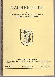 Naturwissenschaftlicher Verein Aschaffenburg  Nachrichten Band Nr. 96.Dezember 1989