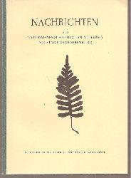 Naturwissenschaftlicher Verein Aschaffenburg  Nachrichten Heft Nr. 82.November 1974