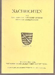 Naturwissenschaftlicher Verein Aschaffenburg  Nachrichten Heft Nr.79.August 1970