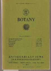 Antiquariaat Junk  Botany