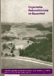 Howald,Oskar (Hsg.)  Organische Rationalisierung im Bauernhof