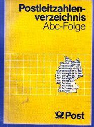 Bundesministerium für Post- und Fernmeldewesen  Pstleitzahlenverzeichnis 1984.Abc-Folge