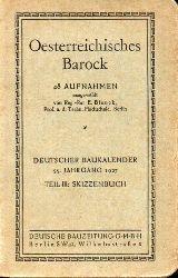 Blunck,E.  Oesterreichisches Barock 48 Aufnahmen