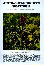 Niedersächsisches Landesverwaltungsamt  Niedersachsen Orchideen sind bedroht