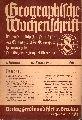 Geographische Wochenschrift  Geographische Wochenschrift 3.Jahrgang 1935, Heft 3