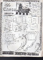 Cleveland Chess Foundation  Elite Chess Bulletin Issue 7 - Second of 1974