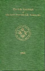 Helsley,Calvin  The Lily Yearbook of the North American Lily Society,Inc. 1992