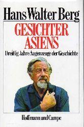 Berg,Hans Walter  Gesichter Asiens
