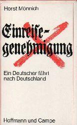 Mönnich,Horst  Einreisegenehmigung