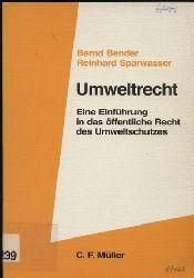 Bender,Bernd+Reinhard Sparwasser  Umweltrecht