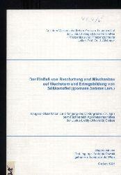 Oswald,Andreas  Der Einfluß von Beschattung und Mischanbau auf Wachstum und Ertrags-