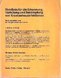 Bundesgesundheitsamt Berlin  Richtlinie für die Erkennung,Verhütung und Bekämpfung von