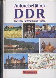 Autoreiseführer DDR  Ratgeber für Urlaub und Reisen mit Autoatlas