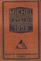 Michel  Briefmarken-Katalog 1928.Europa