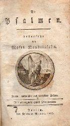 Mendelssohn,Moses  Die Psalmen
