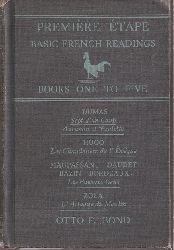 Bond,Otto F.  Premiere Etape Basic French Readings