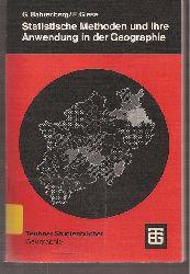 Bahrenberg,G.+E.Giese  Statistische Methoden und ihre Anwendung in der Geographie