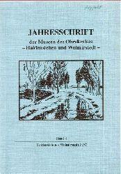 Museen Haldensleben und Wolmirstedt  Jahresschrift Band 4.1997