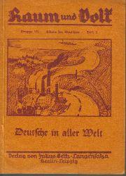 Banse,Ewald  Deutschland in aller Welt
