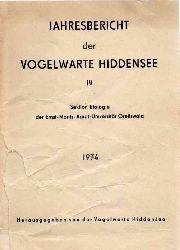 Vogelwarte Hiddensee (Hsg.)  Jahresbericht der Vogelwarte Hiddensee IV