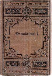 Demokritos (Karl Julius Weber)  Die Religion und die Religionen