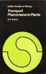 Baker,D.A.  Transport Phenomena in Plants