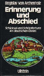 Archenholz,Bogislav von  Erinnerungen und Abschied