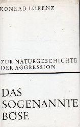 Lorenz,Konrad  Das sogenannte Böse