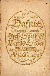 Holz,Arno  Dafnis.Lyrisches Porträt aus dem 17. Jahrhundert