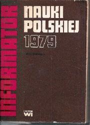 Centrum Informacji Naukowej  Informator Nauki Polskiej 1979