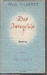 Alverdes,Paul  Das Zwiegesicht