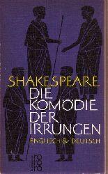 Shakespeare  Die Komödie der Irrungen