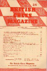 British Chess Magazine  Vol.LXXXIII No.9. September 1963