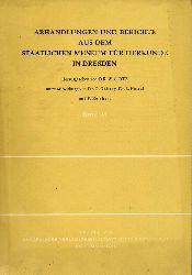Götz,W.(Hsg.)  Abhandlungen und Berichte aus dem staatlichen