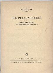 Rytz,Walther  Die Planzenwelt