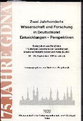 Engelhardt,Dietrich von  Zwei Jahrhunderte Wissenschaft und Forschung in Deutschland