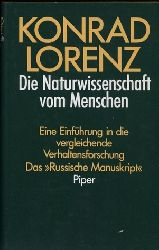Lorenz,Konrad  Die Naturwissenschaft vom Menschen