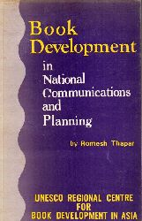 Thapar,Romesh  Book Development in National Communication and Planning
