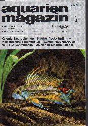 aquarien magazin  19.Jg.1985,Heft 1