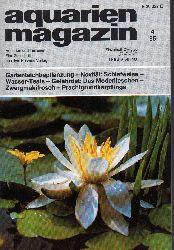 aquarien magazin  19.Jg.1985,Heft 4