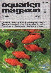 aquarien magazin  19.Jg.1985,Heft 6