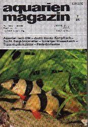 aquarien magazin  19.Jg.1985,Heft 7