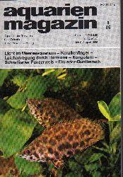 aquarien magazin  19.Jg.1985,Heft 8