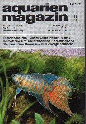aquarien magazin  19.Jg.1985,Heft 11
