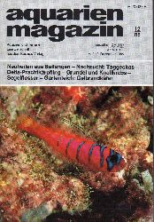 aquarien magazin  19.Jg.1985,Heft 12