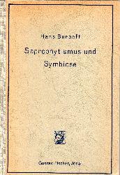 Burgeff,Hans  Saprophytismus und Symbiose.Studien an tropischen Orchideen