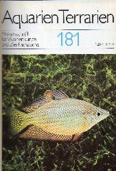 Aquarien Terrarien  28.Jg.1981