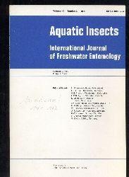 Aquatic insects  Aquatic insects Vol. 10, Number 1-4, 1988 (4 Hefte)